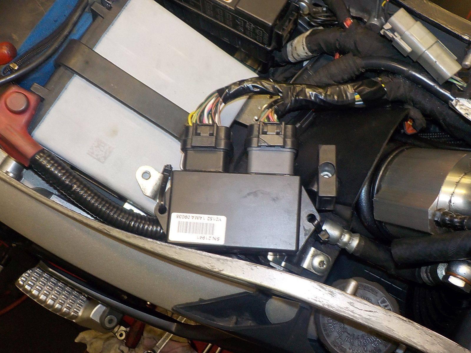 6-4-2018 Buell XB12 Scg belt tensioner, steering damper